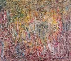 1973 peinture acrylique sur toile 70 x 60