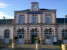 Gare de Sillé le Guillaume © Office de Tourisme de Sillé le Guillaume