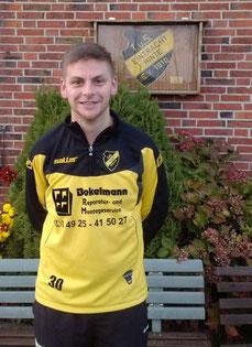 Der Torschütze zum 2:1 Siegtreffer: Marcel Müller