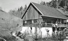 Wagnerhäusl des Leopold Luser (1940)