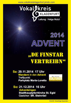 Adventsingen 2014