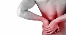 a-specifieke gespecialiseerde lage rugpijn massage bij pijn klachten