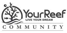 YourReef Community Logo TheReefClub schwarz