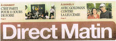 direct matin course contre leucémie myéloïde chronique lmc france