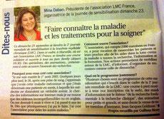 l'hebdo borely lmc france course contre leucemie course contre leucémie myéloïde chronique lmc france