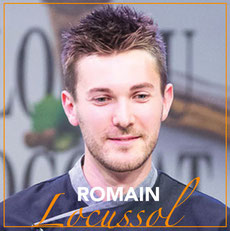 Portrait Grand Chocolatier : Romain Locussol