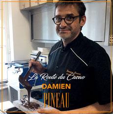 Portrait Grand Chocolatier : Damien Pineau
