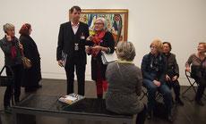 Beckmann Ausstellung, Hamburger Kunsthalle