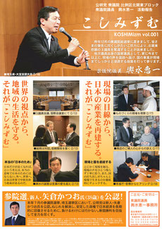 こしみずむA4チラシ Vol.001
