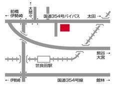 群馬営業所 交通アクセス
