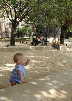 Paris Playground Notre Dame