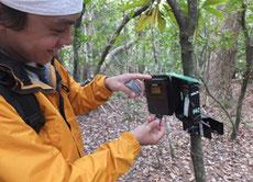 センサーカメラデータ回収