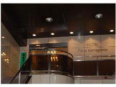 ビジネスホテル プラザ駒込の入口
