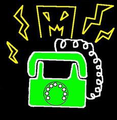 恐怖の電話