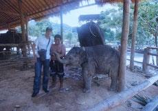 Zusammen mit Arjun in der Nähe von Bangalore, Indien!