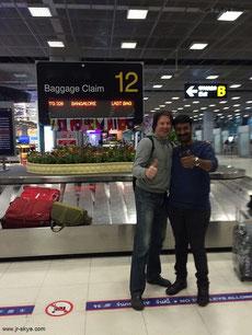 Mit Raj aus Bangalore!