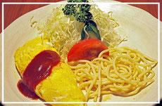 カニオムレツセット800円