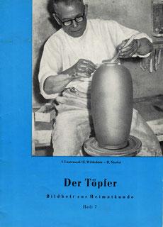 Der Töpfer Bildheft zur Heimatkunde Eisenberg