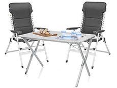 Set Campingmöbel, Tisch bis zu 4 Stühle