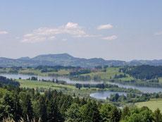 nahe gelegener Rottachsee