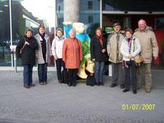 """Mit einer kleinen Gruppe zur """"Grünen Woche"""", Januar 2009"""