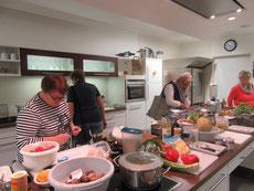 Im Oktober 2017 zum Kochen auf Gut Schirnau