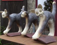 Bild: Dachreiter als Katzen