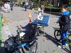 Bild:Solatrike in Serres am Klimatag
