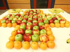 DRK-Mein Ding! ...mit viel Obst nachgebildet
