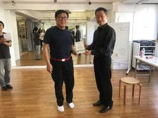 久保 達也さん 5級認定 おめでとうございます