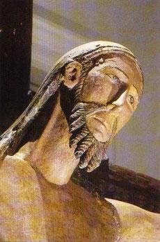 Le Christ de Vebret, bois polychrome du XIIème siècle