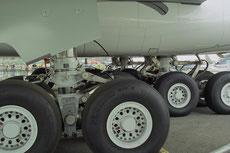Hauptfahrwerk eines A380 © Andreas Unterberg