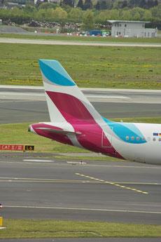 Heck eines A320 © Andreas Unterberg