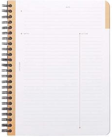 Cuaderno de reuniones - AorganiZarte