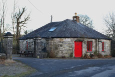 I lived in this gatehouse during my stay in Feakle.
