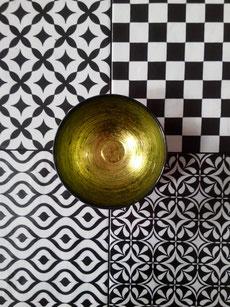 rivestimento in ceramica effetto patchwork