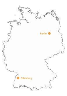 simonmoserkultur ist im gesamten deutschsprachigen Raum aktiv.   Für Deutschland, Schweiz und Österreich operieren wir von unseren beiden Backoffices in Offenburg (Hauptsitz) und Berlin aus.