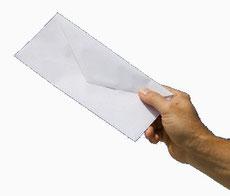 lettre envoi courrier réponse demande dossier simple