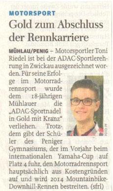 Freie Presse Penig/Rochlitz 03.02.2014