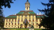 セゲド市の市役所(南ハンガリー)