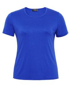 blaues T-Shirt günstig bequem in großen Größen