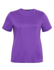 lila T-Shirt in großen Größen