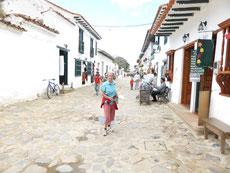 In den Gassen von Villa de Leyva