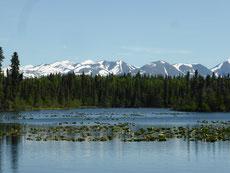 ...oder den Seven Lakes Trail -  ...
