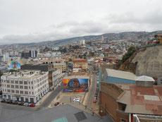 Valparaiso - eine Stadt auf Hügel gebaut