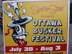 Am Busker Festival....