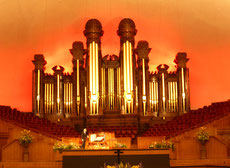 ... besuchen wir im Tabernacle ein Orgelkonzert. Selbst für uns Musikbanausen ein Hörgenuß.