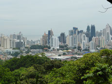 Skyline von Panama-City
