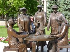 Bereits seit 1916 gibt es das Wahlrecht für Frauen in Manitoba.