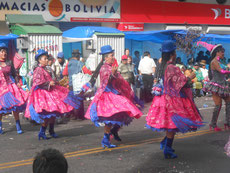 Es ist Karneval in La Paz